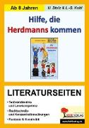 Cover-Bild zu Hilfe die Herdmanns kommen / Literaturseiten