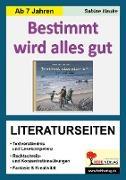 Cover-Bild zu Bestimmt wird alles gut / Literaturseiten (eBook) von Hauke, Sabine