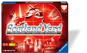 Cover-Bild zu Scotland Yard - Swiss Edition