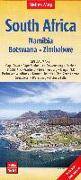 Cover-Bild zu Nelles Map South Africa - Namibia - Botswana - Zimbabwe 1 : 2 500 000