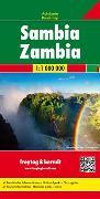 Cover-Bild zu Sambia, Autokarte 1:1 Mio. 1:1'000'000