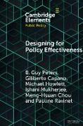 Cover-Bild zu Designing for Policy Effectiveness von Peters, B. Guy (University of Pittsburgh)