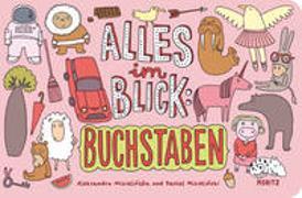 Cover-Bild zu Mizielinska, Aleksandra: Alles im Blick: Buchstaben