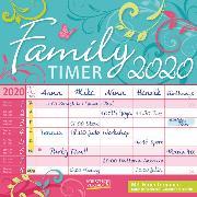 Cover-Bild zu Family Timer - Floral 2020 von Korsch Verlag (Hrsg.)