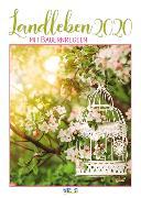 Cover-Bild zu Landleben mit Bauernregeln 2020 von Korsch Verlag (Hrsg.)