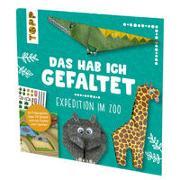 Cover-Bild zu Pypke, Susanne: Das hab ich gefaltet Mini-Papierset - Expedition im Zoo