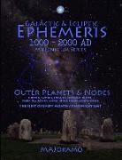 Cover-Bild zu Joramo, Morten Alexander: Galactic & Ecliptic Ephemeris 1000 - 2000 Ad