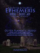 Cover-Bild zu Joramo, Morten Alexander: Galactic & Ecliptic Ephemeris 2000 - 3000 Ad