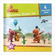 Cover-Bild zu Der kleine Drache Kokosnuss - Panorama Sticker Set von Siegner, Ingo (Beitr.)