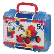 Cover-Bild zu Bristle Blocks 50 Teile im Koffer