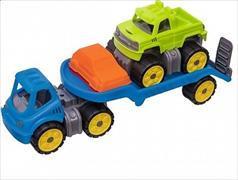 Cover-Bild zu BIG-Power-Worker Mini Monstertruck-Set mit Sandförmchen