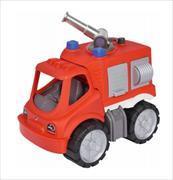 Cover-Bild zu BIG-Power-Worker Mini Feuerwehr Löschwagen mit Wasserspritzfunktion