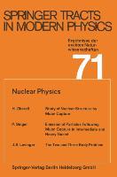 Cover-Bild zu Nuclear Physics von Fujimori, Atsushi