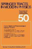 Cover-Bild zu Current Algebra and Phenomenological Lagrange Functions von Fujimori, Atsushi
