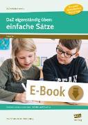 Cover-Bild zu DaZ eigenständig üben: einfache Sätze - GS (eBook) von Schulte-Bunert, Ellen