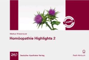 Cover-Bild zu Homöopathie Highlights 2 von Wiesenauer, Markus