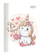Cover-Bild zu Ladytimer Unicorn 2022 - Einhorn - Taschenkalender A6 (11x15 cm) - Weekly - 192 Seiten - Notiz-Buch - Termin-Planer - Alpha Edition