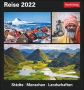 Cover-Bild zu Reise Kalender 2022 von Schnober-Sen, Martina