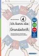 Cover-Bild zu Ich kann die Grundschrift Teil A - Ausgabe mit Artikelkennzeichnung von Langhans, Katrin