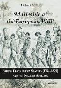 Cover-Bild zu 'Malleable at the European Will': British Discourse on Slavery (1784-1824) and the Image of Africans (eBook) von Meier, Helmut