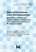 Cover-Bild zu Innovationsförderung durch Transferagenturen von Euler, Dieter