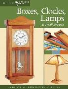 Cover-Bild zu Boxes, Clocks, Lamps, and Small Projects (Best of WWJ) (eBook) von Nelson, John A.