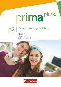 Cover-Bild zu Prima plus, Deutsch für Jugendliche, Allgemeine Ausgabe, A2: zu Band 1 und 2, Testheft mit Audio-CD von Chobotar, Tetyana