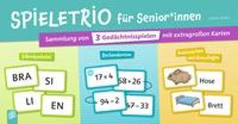 Cover-Bild zu Spieletrio für Senioren und Seniorinnen