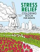 Cover-Bild zu Stress Relief Coloring Book for Adults von Palmer, Jenny (Illustr.)