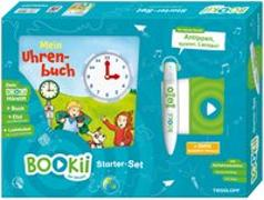 Cover-Bild zu BOOKii® Starter-Set Mein Uhrenbuch von Stiefenhofer, Martin