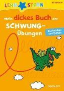 Cover-Bild zu Lernstern: Mein dickes Buch der Schwungübungen. Buchstaben und Zahlen von Fuchs, Birgit