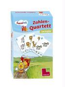 Cover-Bild zu Zahlen-Quartett von Dilg, Sonia (Illustr.)