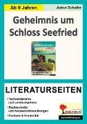 Cover-Bild zu Geheimnis um Schloss Seefried - Literaturseiten (eBook) von Schaller, Anton