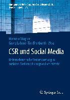 Cover-Bild zu CSR und Social Media von Wagner, Riccardo (Hrsg.)