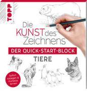 Cover-Bild zu Die Kunst des Zeichnens Tiere. Der Quick-Start-Block von frechverlag