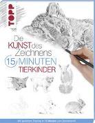 Cover-Bild zu Die Kunst des Zeichnens 15 Minuten - Tierkinder von frechverlag