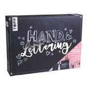 Cover-Bild zu Handlettering - Die wunderbare Kreativbox von frechverlag