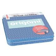 Cover-Bild zu Origami Faltblätter mit Designdose (Ornamente) von frechverlag