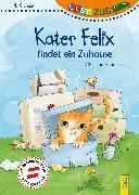 Cover-Bild zu LESEZUG/1. Klasse: Kater Felix findet ein Zuhause von Auer, Christine