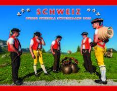 Cover-Bild zu Cal. Schweiz-Suisse-Svizzera-Switzerland 2022 Ft. 40x31
