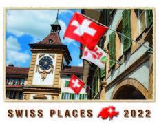 Cover-Bild zu Cal. Swiss Places 2022 Ft. 40x31