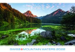 Cover-Bild zu Cal. Swiss Mountain Waters 2022 Ft. 48x33