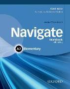 Cover-Bild zu Navigate: A2 Elementary: Workbook with CD (without key) von Tabor, Carol