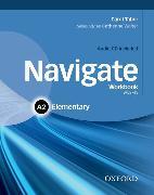 Cover-Bild zu Navigate: A2 Elementary: Workbook with CD (with key) von Tabor, Carol