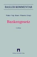 Cover-Bild zu Bankengesetz von Watter, Rolf (Hrsg.)