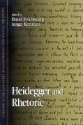 Cover-Bild zu Heidegger and Rhetoric (eBook) von Gross, Daniel M. (Hrsg.)