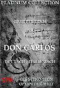 Cover-Bild zu Don Carlos (eBook) von Verdi, Giuseppe