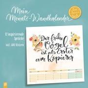 "Cover-Bild zu Mein Monats-Wandkalender ""live - love - teach"""