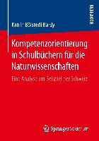 Cover-Bild zu Kompetenzorientierung in Schulbüchern für die Naturwissenschaften von Bölsterli Bardy, Katrin