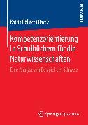Cover-Bild zu Kompetenzorientierung in Schulbüchern für die Naturwissenschaften (eBook) von Bölsterli Bardy, Katrin
